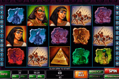 the pyramid of the ramesses playtech pokie