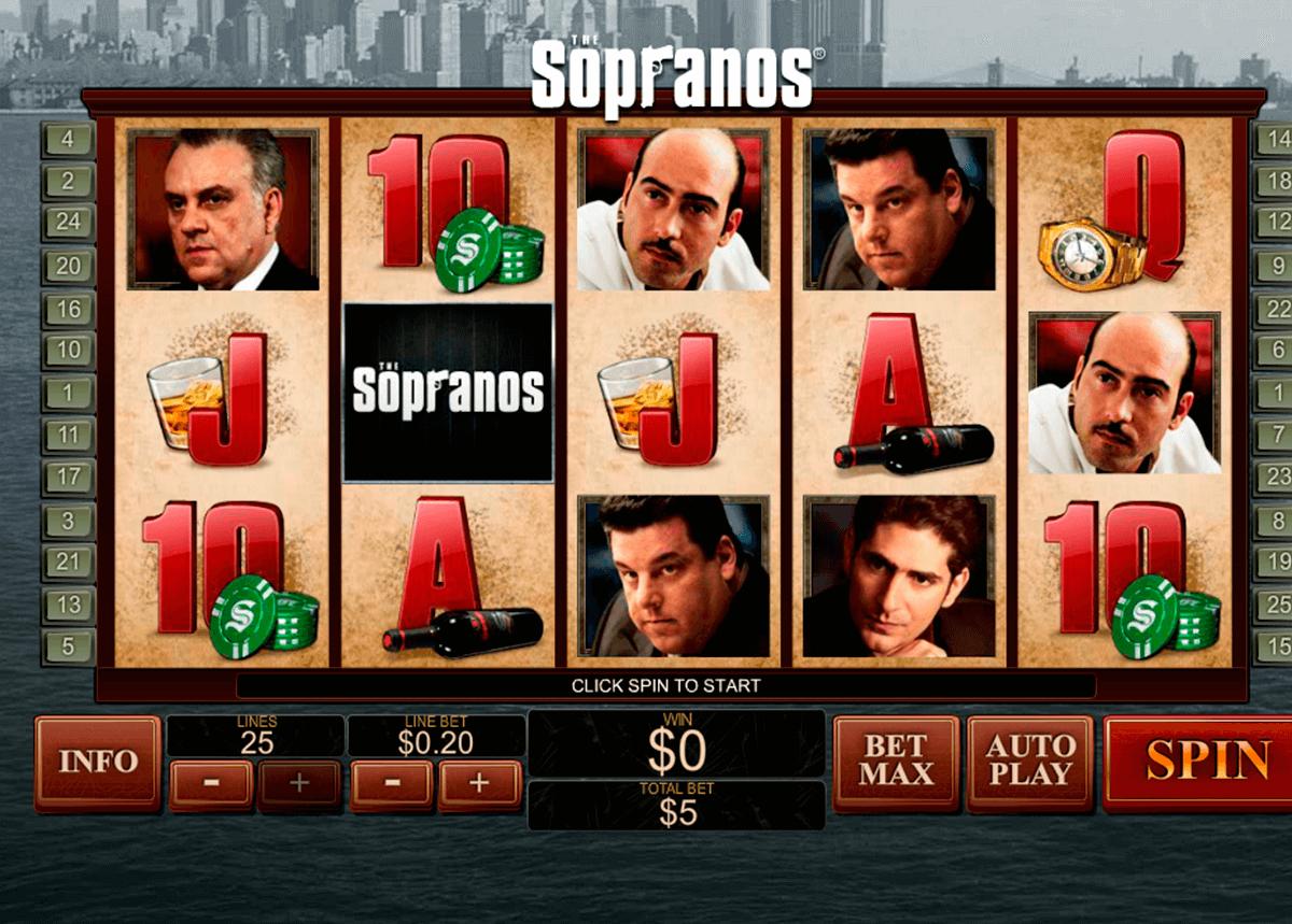 the sopranos playtech pokie