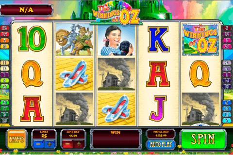the winnings of oz playtech pokie