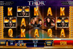 thor the mighty avenger playtech pokie
