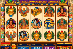 throne of egypt microgaming pokie