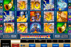 thunderstruck microgaming pokie