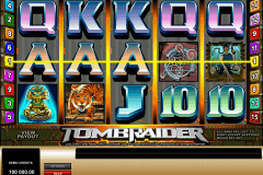 tomb raider microgaming pokie