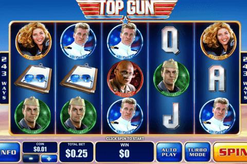 top gun playtech pokie