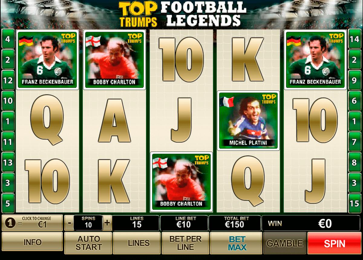 top trumps football legends playtech pokie