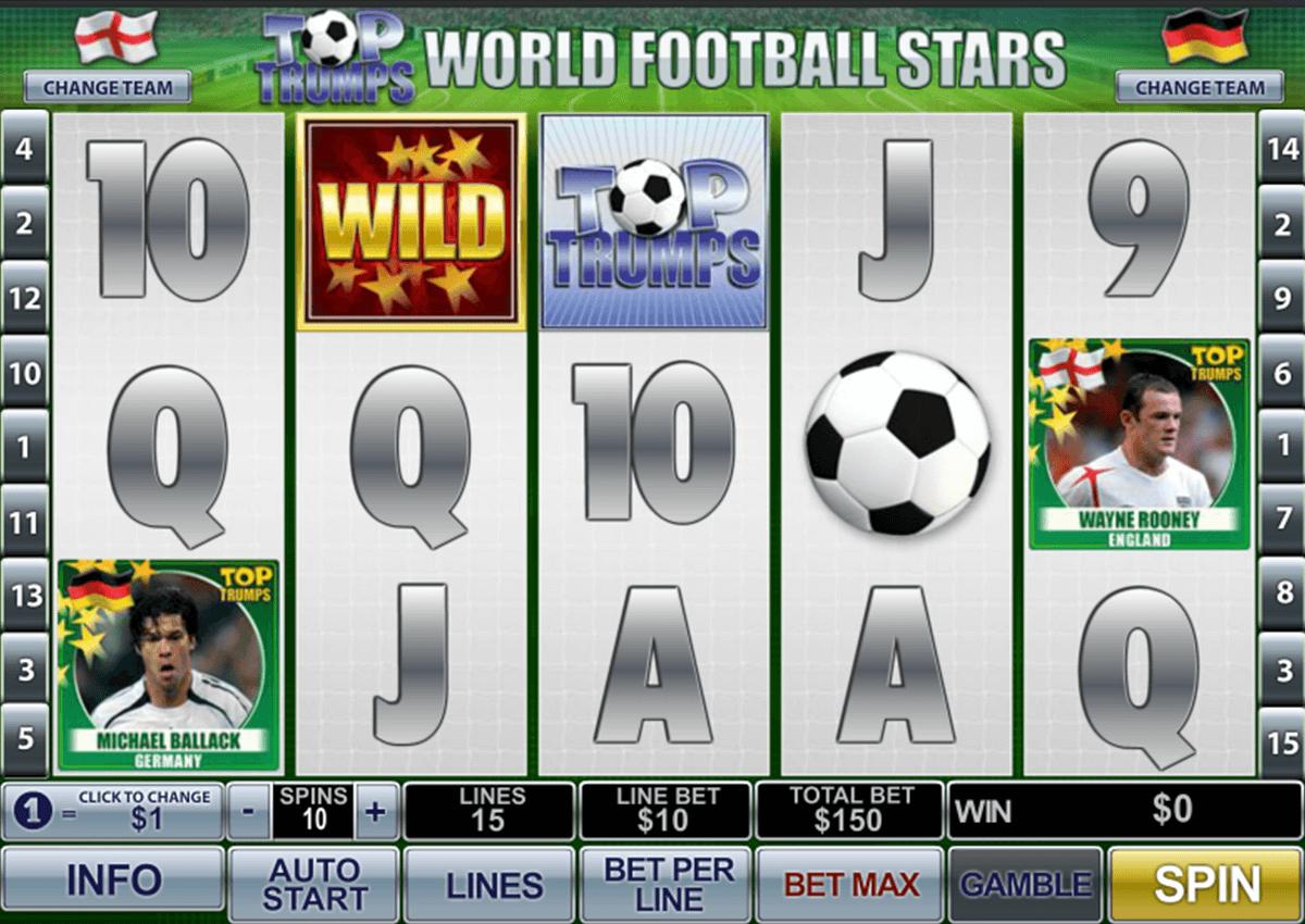 top trumps world football stars playtech pokie