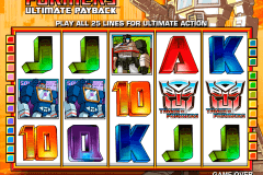 transformers ultimate payback igt pokie