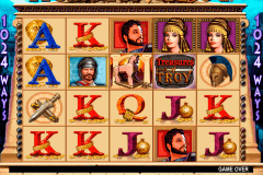 treasures of troy igt pokie