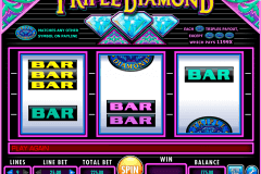 triple diamond igt pokie
