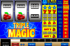 triple magic microgaming pokie