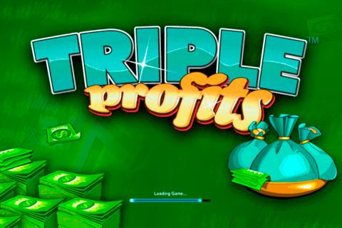 triple profits playtech pokie