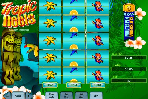 tropic reels playtech pokie