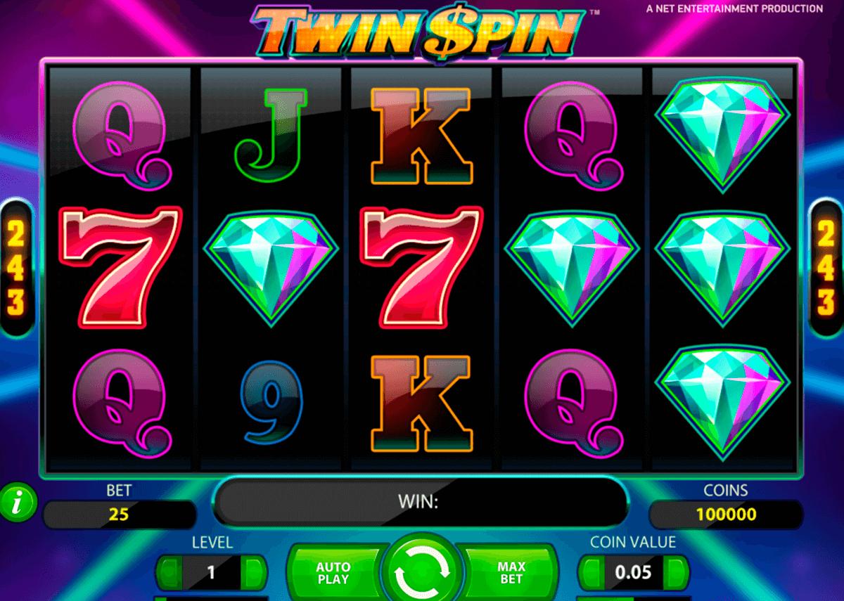 twin spin netent pokie