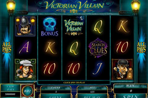 victorian villain microgaming pokie