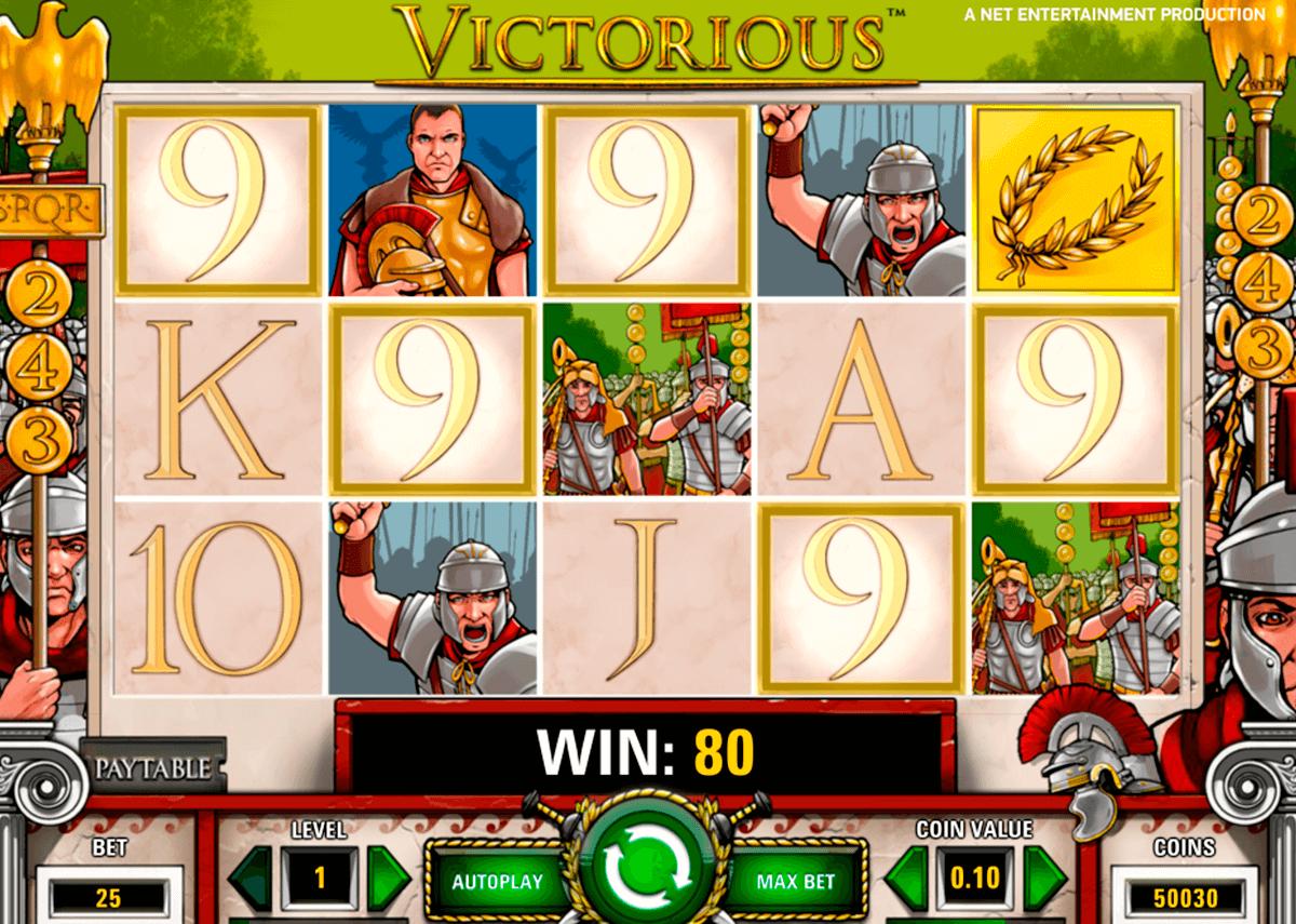 victorious netent pokie