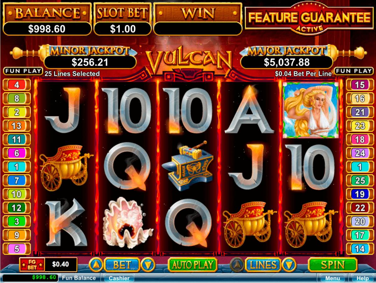 vulcan online slot com