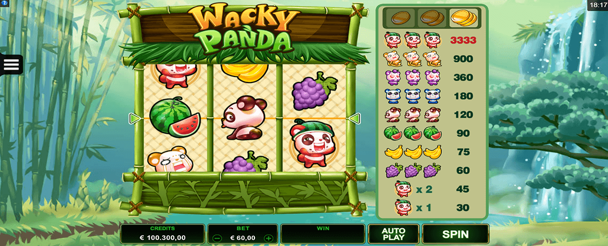 Wacky Panda Slot - Play for Free Online with No Downloads