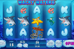 wacky waters playtech pokie