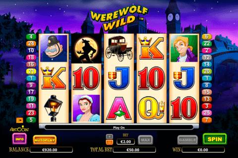 werewolf wild aristocrat pokie