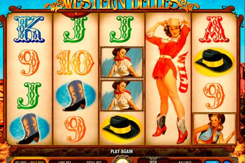 western belles igt pokie