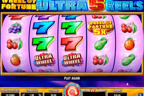wheel of fortune ultra  reels igt pokie