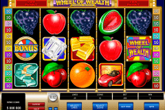 wheel of wealth special edition microgaming pokie