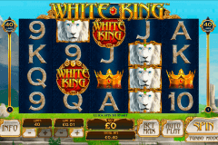 white king playtech pokie