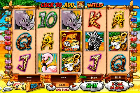 wild gambler playtech pokie