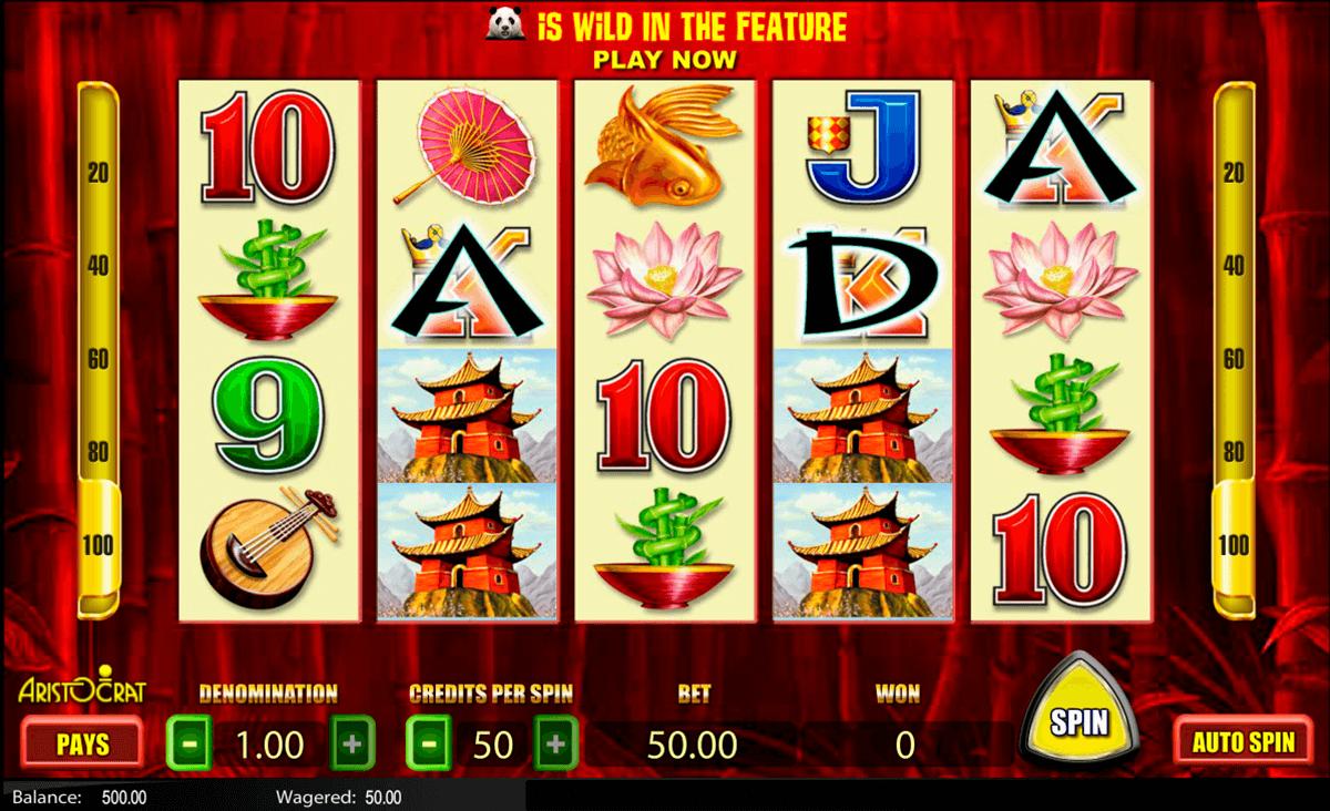 Wild panda slot machine to play livre de poker pas cher