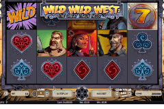 wild wild west the great train heist netent pokie