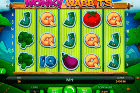 wonky wabbits netent pokie
