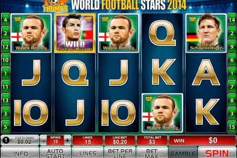 world football stars  playtech pokie