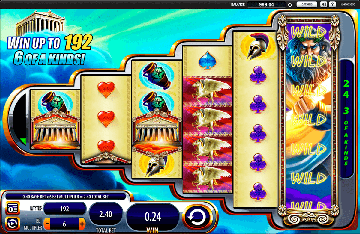 Free wms zeus 3 slot machine casino barriere enghien tarif